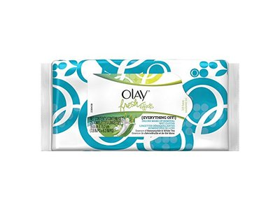 Olay Fresh Effects Everything Off Deluxe Make-Up Removal Wet Cloths 25 cloths per pack
