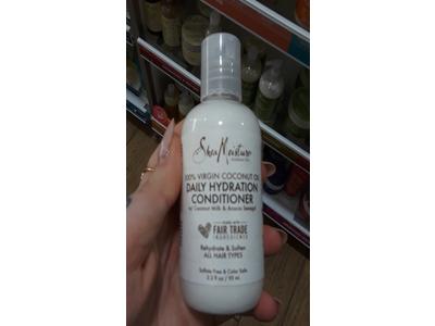 Shea Moisture 100% Virgin Coconut Oil Daily Hydration Conditioner, 3.2 fl oz - Image 1