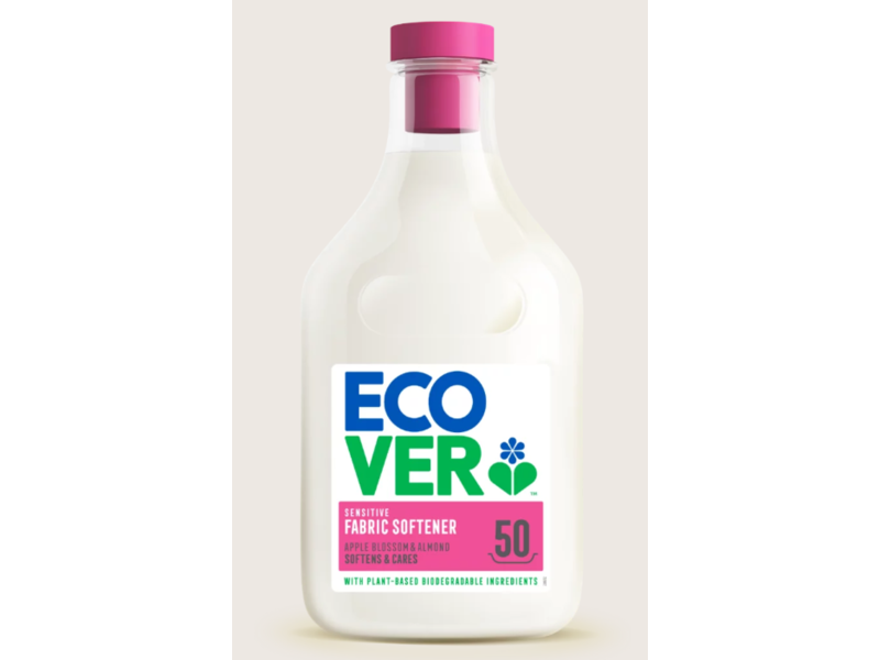 Ecover Fabric Softener, Apple Blossom and Almond, 1.5 Litre