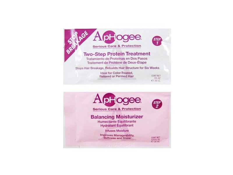 Aphogee Two Step Protein Treatment Amp Balancing Moisturizer 1 75 Oz Ingredients And Reviews