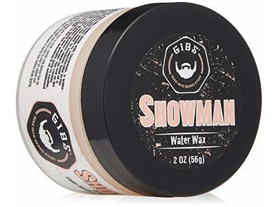 GIBS Showman Water Wax, Light-Medium Hold - Super High Shine, 2 oz