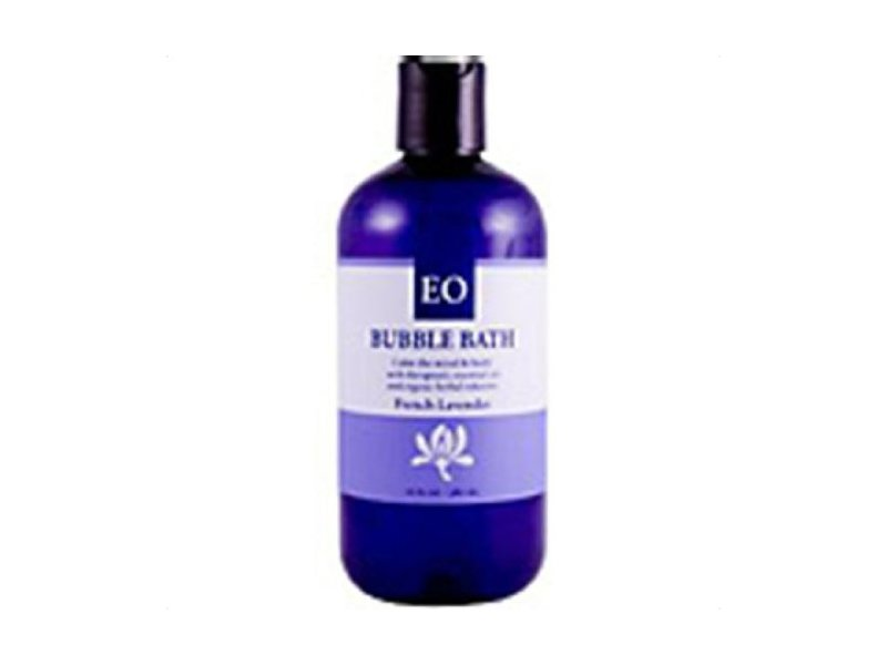 EO Products Bubble Bath, French Lavender, 12 oz.