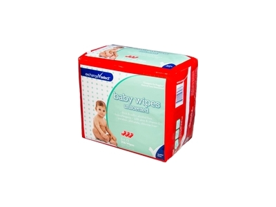Exchange Select Solo Dispensing Baby Wipes, Unscented, 216 wipes