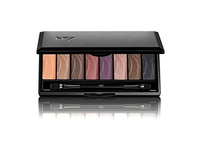 Boots No7 Stay Perfect Eyeshadow Palette, Smoky, 0.33 oz