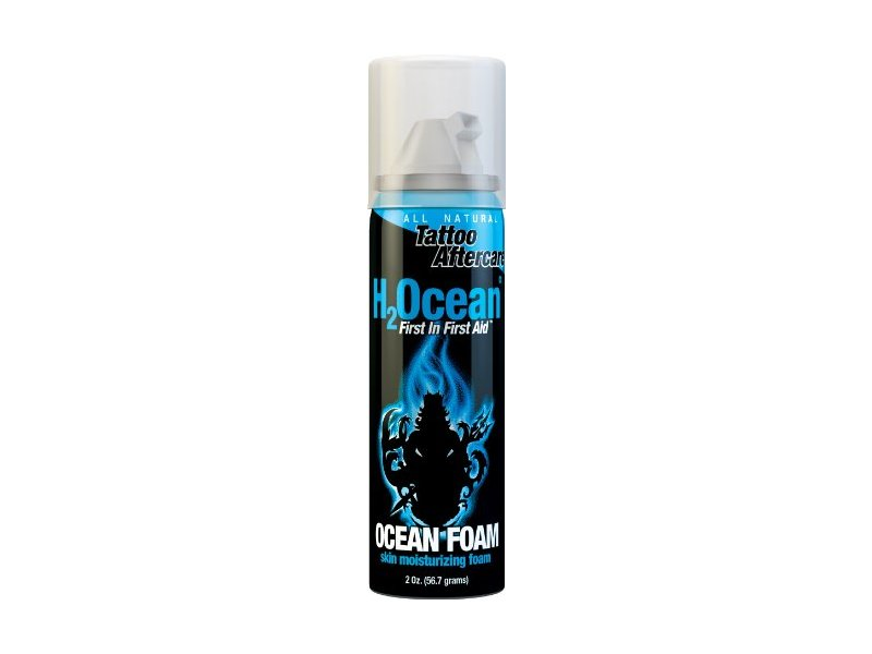 H2Ocean Ocean Foam Tattoo Aftercare, 2 Ounce