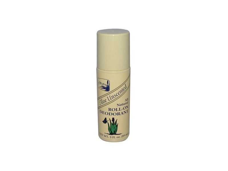 Alvera Roll-on Deodorant Aloe Unscented
