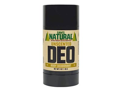 Sam's Natural Deodorant Stick, 3 oz