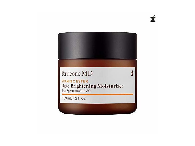 Perricone MD Vitamin C Ester Photo-Brightening Moisturizer SPF 30 for Unisex, 2 Ounce