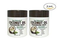 Spa Naturals Extra Virgin Coconut Oil Moisturizing Cream, 12oz - Image 2