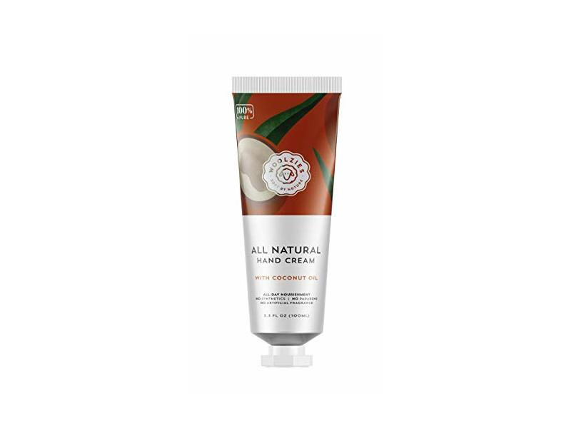 Woolzies All Natural Hand Cream, Coconut Oil, 3.3 fl oz