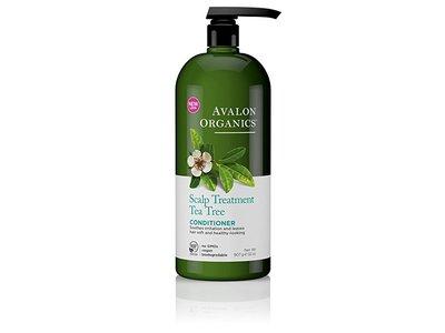 Avalon Organics Conditioner, Scalp Treatment Tea Tree, 32 oz
