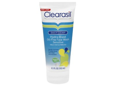 Clearasil Daily Clear Hydra-blast Oil-free Face Wash, Sensitive, 6.5 fl oz