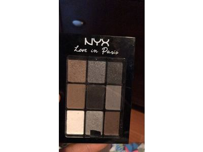 NYX Professional Makeup Love in Paris Eyeshadow Palette, A La Mode, 0.03 oz - Image 3
