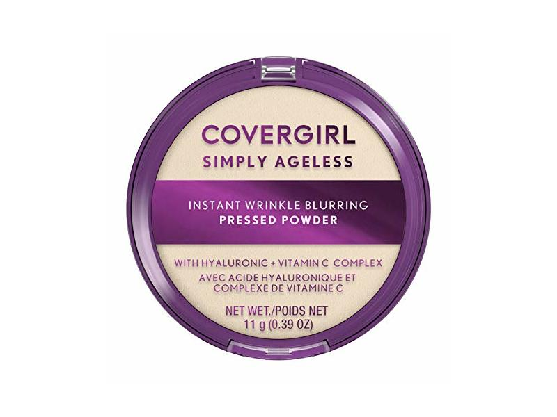 Covergirl Simply Ageless Instant Wrinkle Blurring Pressed Powder, Translucent, 3.9 oz/11 g