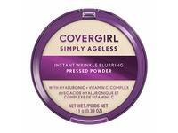 Covergirl Simply Ageless Instant Wrinkle Blurring Pressed Powder, Translucent, 3.9 oz/11 g - Image 2