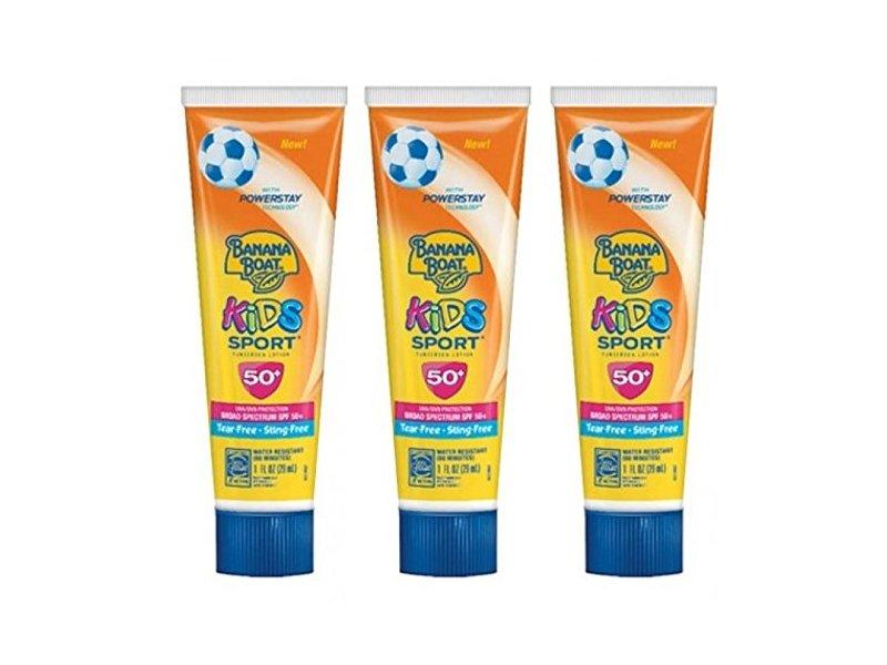 Banana Boat Kids Sport Sunscreen Lotion, SPF 50, 1 fl oz