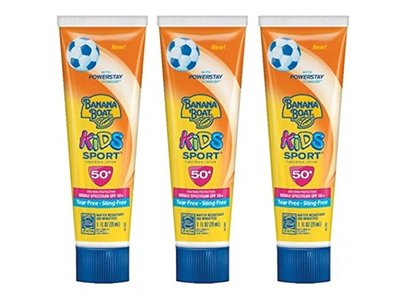 Banana Boat Kids Sport Sunscreen Lotion, SPF 50, 1 fl oz