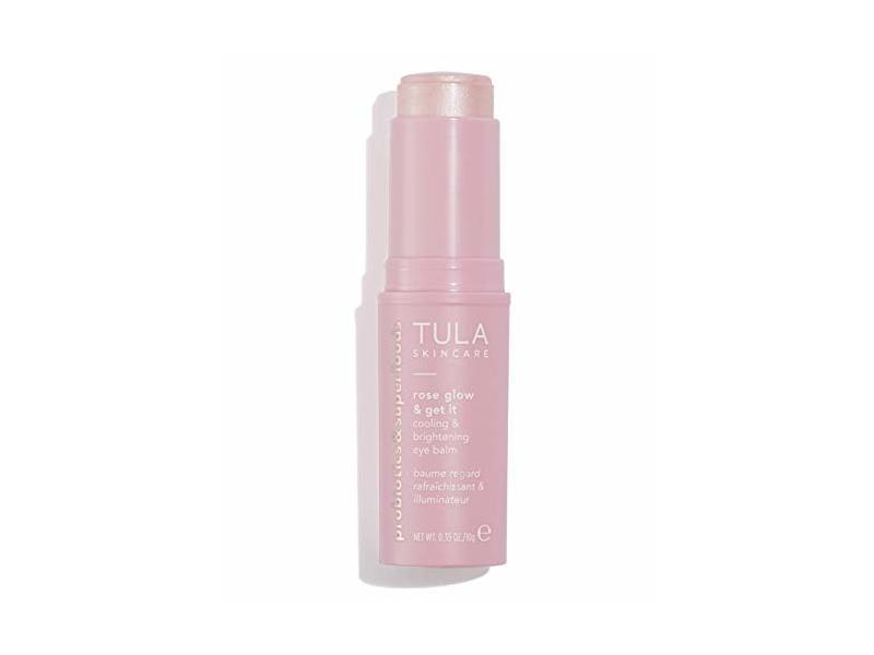 Tula Probiotic Skin Care Rose Glow & Get It Eye Balm, 0.35 oz / 10 g