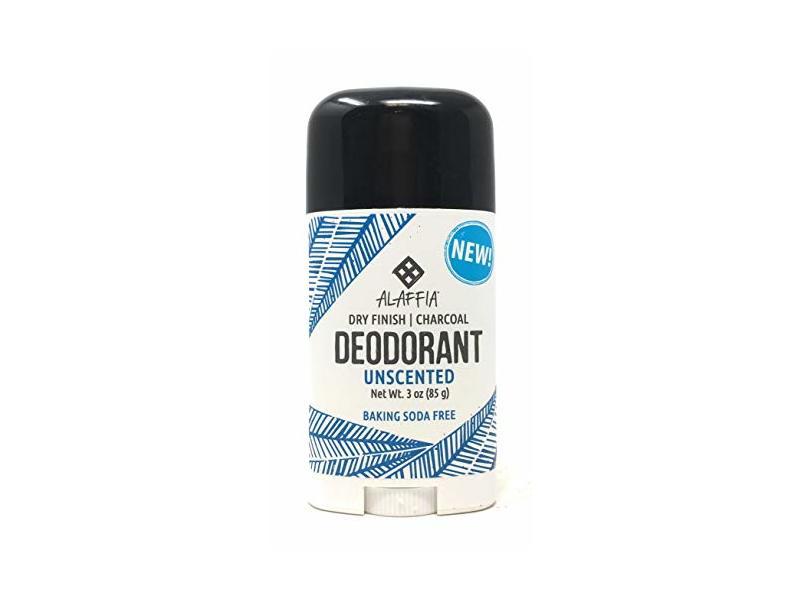 Alaffia Everyday Shea Dry Finish Deodorant, Unscented, 3 oz