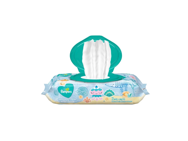 Pampers Wipes Complete Clean, 72 count