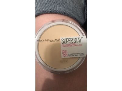 Maybelline New York Super Stay Full Coverage Powder Foundation Makeup Matte Finish, Fair Porcelain, 0.18 Ounce - Image 3