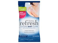Ban Total Refresh Total Cooling Body Cloths - Invigorates 10 Count 3 Pack - Image 2