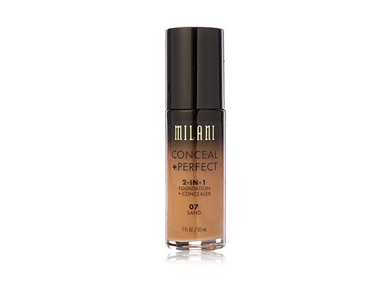 Milani Conceal + Perfect 2-in-1 Foundation Concealer, Sand, 1.0 fl oz