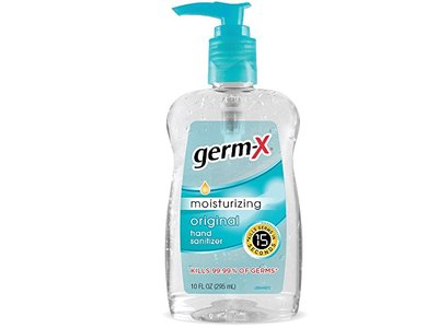 Germ-X Hand Sanitizer with Vitamin E, Original, 10 fl oz