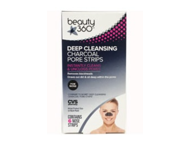 Beauty 360 Deep Cleansing Charcoal Pore Strips
