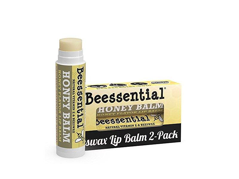 Beessential Honey Balm Beeswax Lip Balm