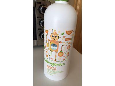 Babyganics Foaming Dish and Bottle Soap Refill, Citrus, 32oz Bottle - Image 11