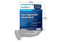 Basic Care Minoxidil Topical Solution USP, 5% Hair Regrowth Treatment for Men, 12.0 fl oz - Image 10