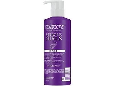 Aussie Miracle Curls Conditioning Cleanser, 16.9 fl oz - Image 3