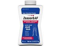 Zeasorb Af Super Absorbent Powder, Antifungal Treatment, 2.5 oz/71 g - Image 2
