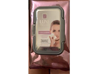 Global Beauty Care Collagen Makeup Cleansing Wipes - Image 3