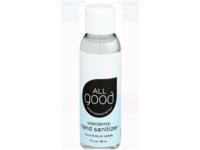All Good Hand Sanitizer, Unscented, 2 fl oz/60mL, Pack Of 6 - Image 2