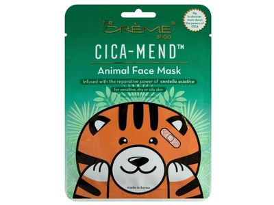The Creme Shop Cica-Mend Animal Face Mask, 0.88 oz/25 g, Pack Of 3