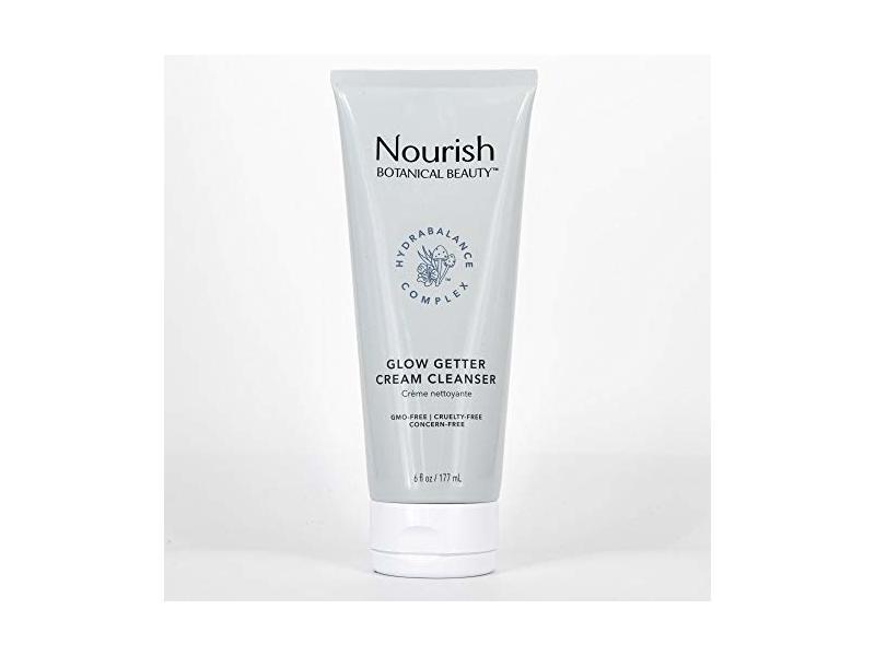 Nourish Botanical Beauty Cream Cleanser Glow Getter, 6 fl oz
