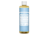 Dr. Bronner's 18-in-1 Hemp Baby Unscented Pure-Castile Soap, 32 fluid oz - Image 2