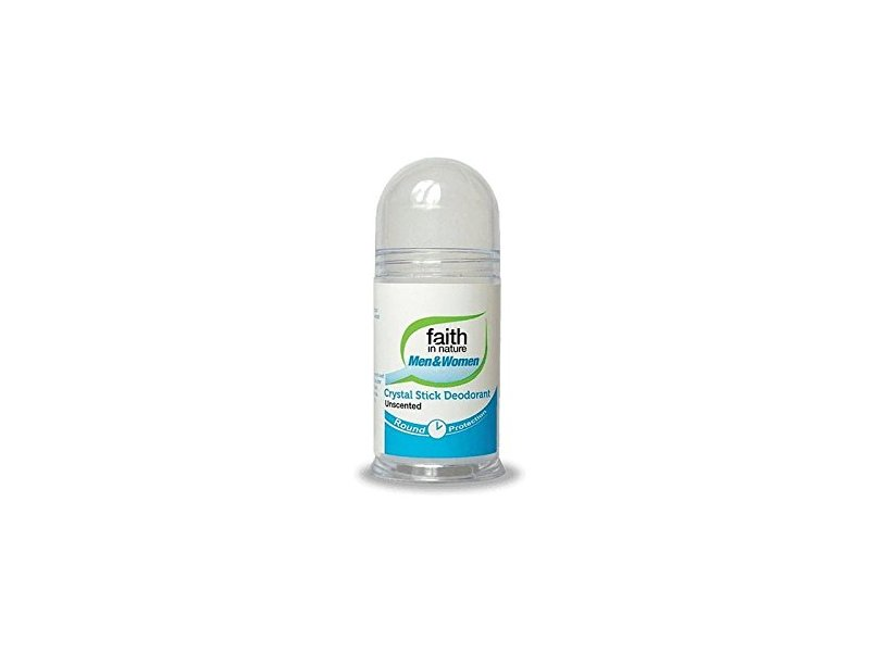 Faith in Nature Crystal Stick Deodorant, Unscented, 100 g