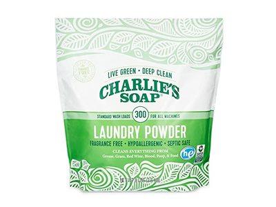 Charlie's Soap Laundry Powder, Fragrance Free, 300 Loads, 3.6 kg