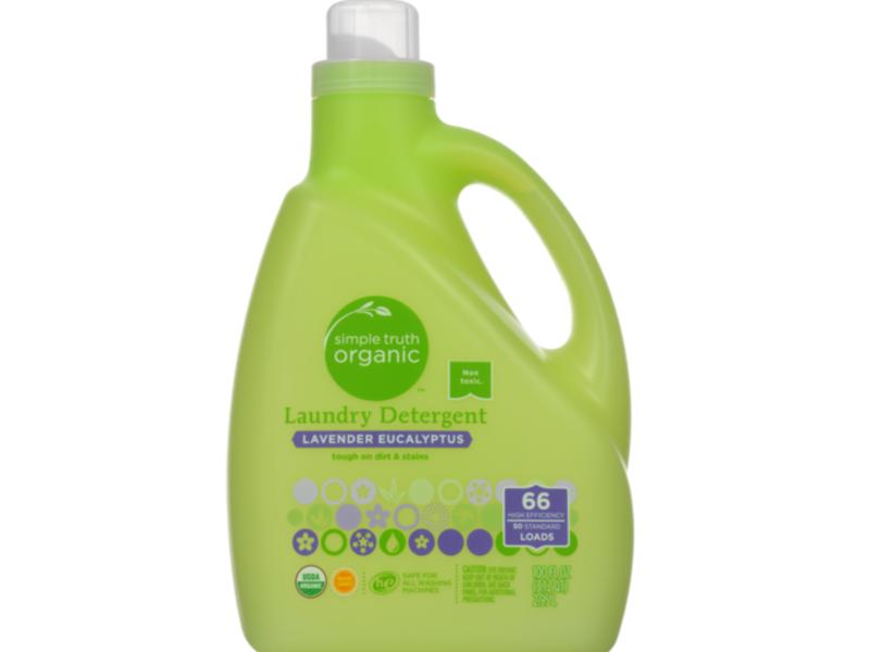 Simple Truth Organic Laundry Detergent, Lavender Eucalyptus, 100 fl oz