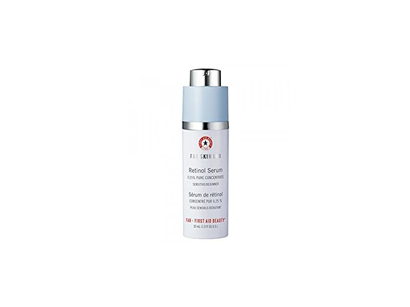 First Aid beauty Skin Lab Retinol Serum 0.25% Pure Concentrate, 1 fl oz