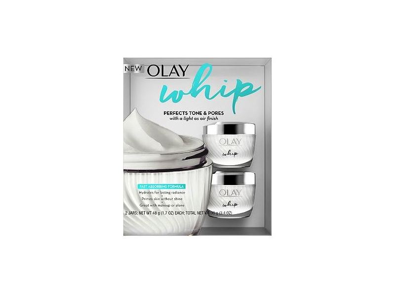 Olay Whip Face Moisturizer, 1.7 oz (2 pack) - available only in Costco stores