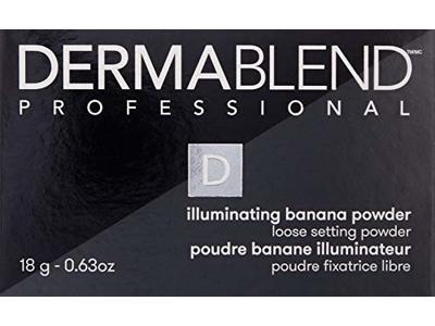 Dermablend Illuminating Banana Powder, Loose Setting Powder, 0.63 Oz. - Image 6