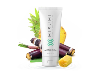 Misumi AHA 10% Skin Perfecting Cleanser, 4 fl oz (120 mL)