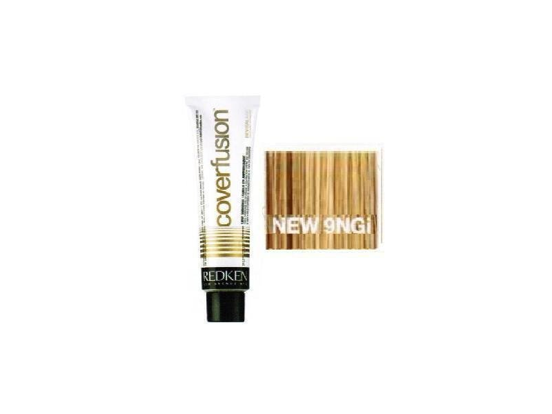 Redken Cover Fusion Hair Color 9ngi Natural Gold Ingredients And