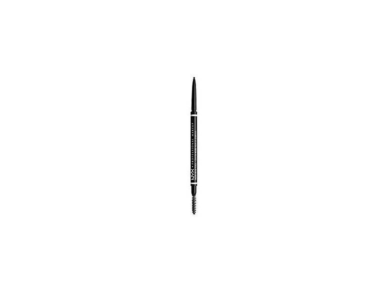 NYX Micro Brow Pencil, Black, .003 oz