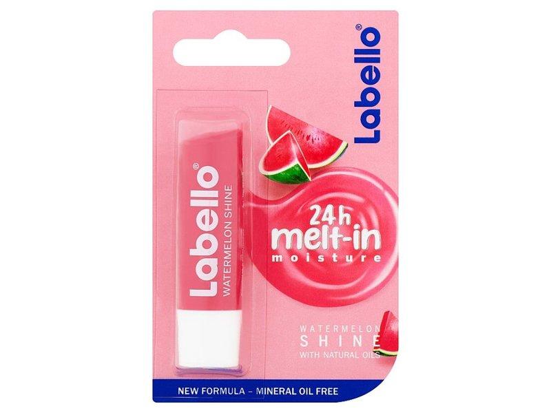Labello Watermelon Shine 24h Melt-in Moisture, 4.8 g/5.5 mL