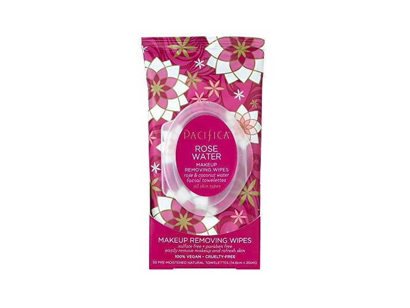 Pacifica Rose Flower Cleansing Wipes